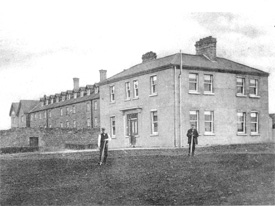 Castlereagh Workhouse where 2x great Grandad Michael Dalton Died